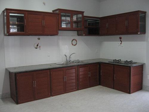 tủ bếp vân gỗ đà nẵng